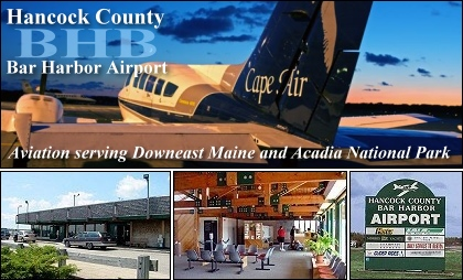 The Hancock County-Bar Harbor Airport