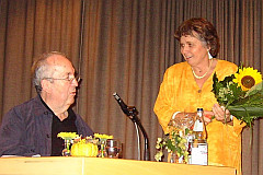 Ehrengast beim Helferfest ist der ehe- malige Stuttgarter Oberbürgermeister Dr. Manfred Rommel