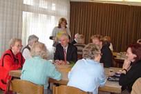 Justizminister Prof. Dr. Ulrich Goll zu Besuch beim Mittagstisch