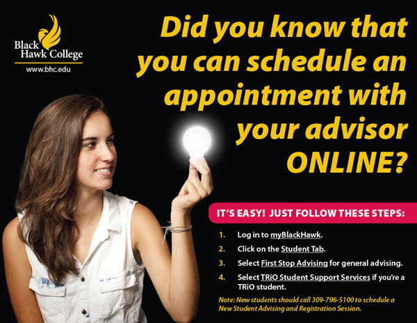 schedule advisor appointment