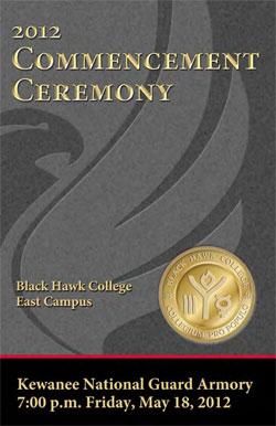 East Campus commencement program 2012