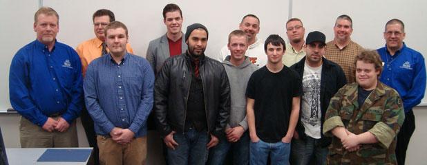 Welding Graduates February 18, 2011