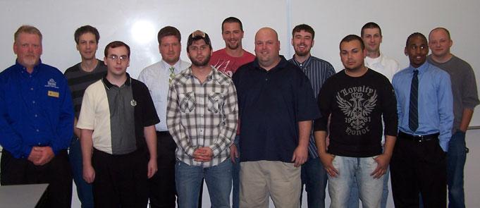 Welding Graduates Night Class May 26, 2011
