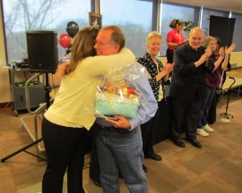 Congratulations to David Shelangouski, groundskeeper, for 35 years at Black Hawk College!