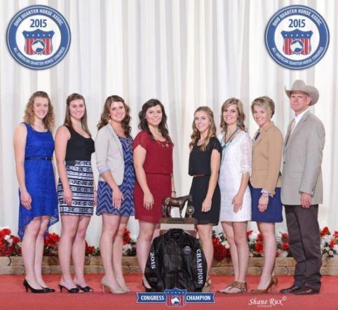 BHC horse judges 2015 Congress Champion