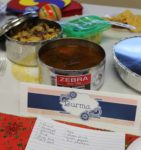 Dish from Burma at the International Food Competition