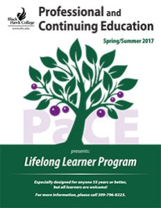 Spring Lifelong Learners schedule