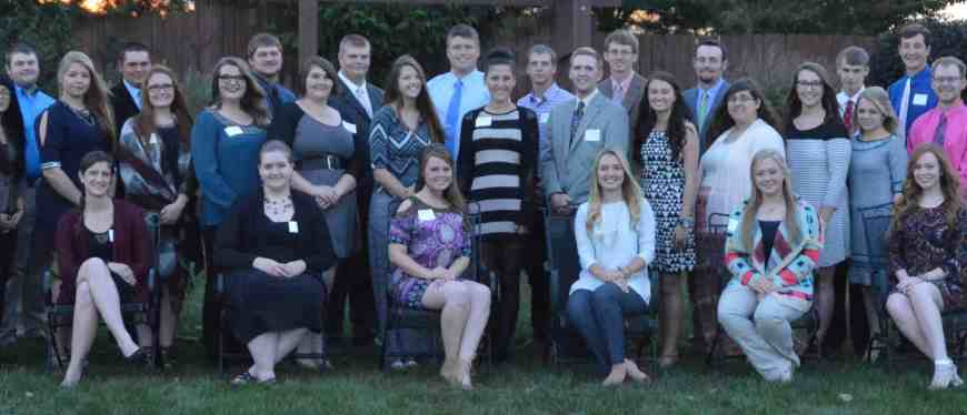 East Campus scholarship recipients 2016