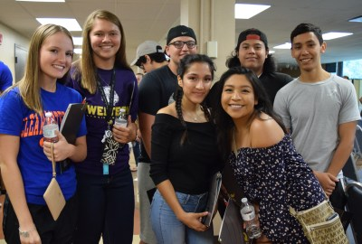 Group of students at Welcome Week Orientation