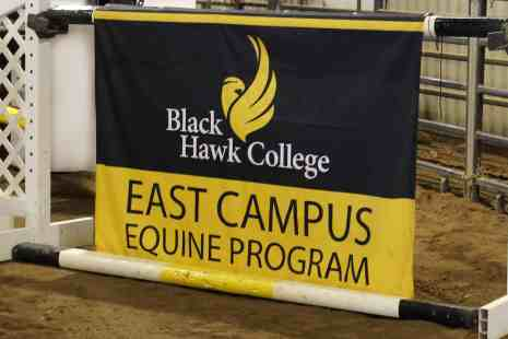 East Campus equine program banner
