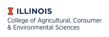 U of Illinois College of Agricultural Consumer & Environmental Sciences logo