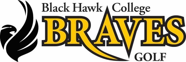 Black Hawk College Braves golf logo