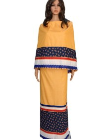 Casual Rida Yellow With Panel & Lace
