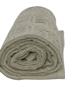 Cotton Towel Grey Designed