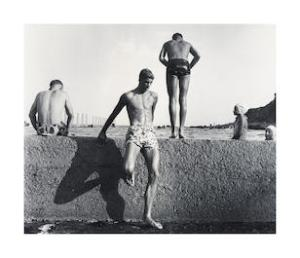 """Lot 78, Max Dupain, At Newport, 1952, printed later, est. $4,000-6,000. There's """"Sunbaker"""" and there's """"At Newport"""""""