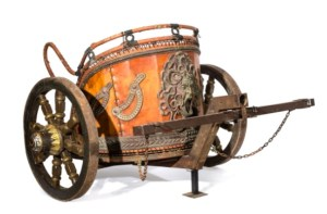 Lot 17 replica Roman chariot
