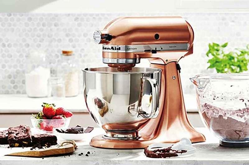 Regaling Quart Series Stand Mixer Copper Pearl Kitchenaid