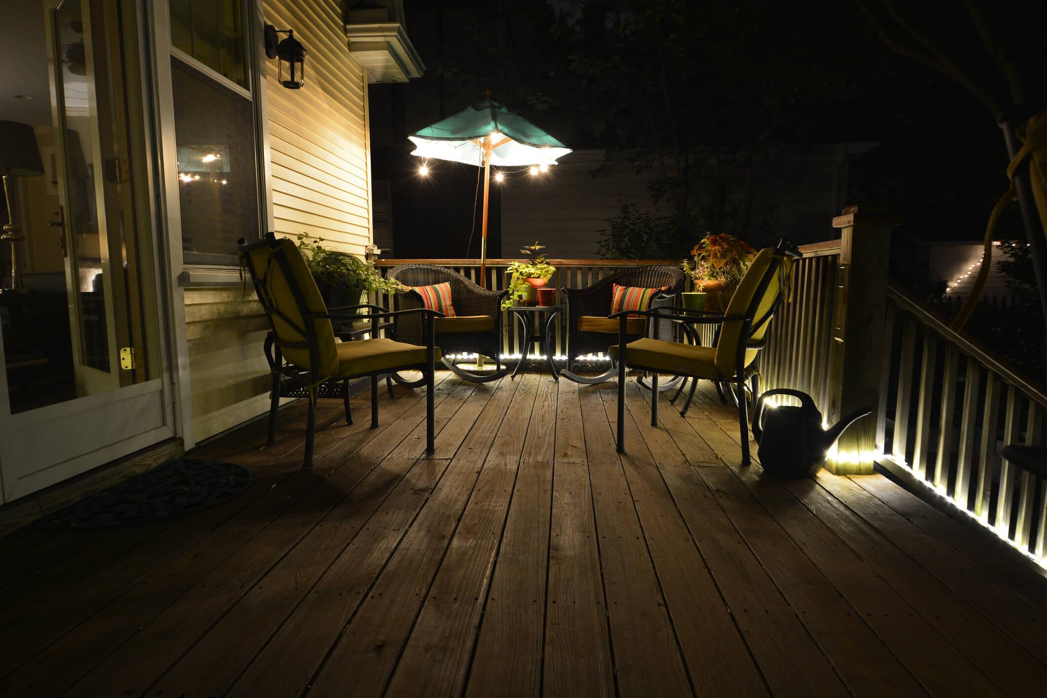 deck lighting ideas 21 inspiring ideas
