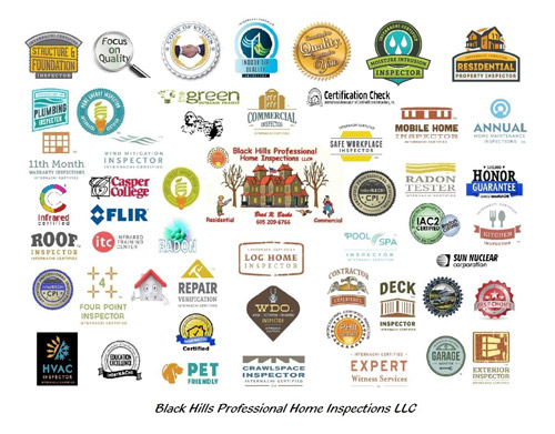 Black Hills Home Inspection Certifications