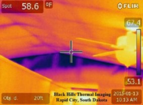 Missing Insulation - Northern Black Hills Inspections