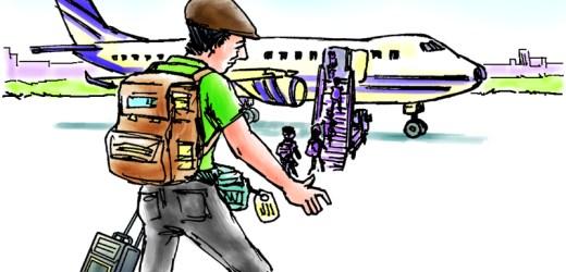 """बा – हजुरले बाख्रा बेचेर किनेको सटिफिकेट आज शहरमा कतै बिकेन """" पासपोर्ट बिकेछ भने हजुरहरुका लागि खुसि किनेर ल्याउने छु"""