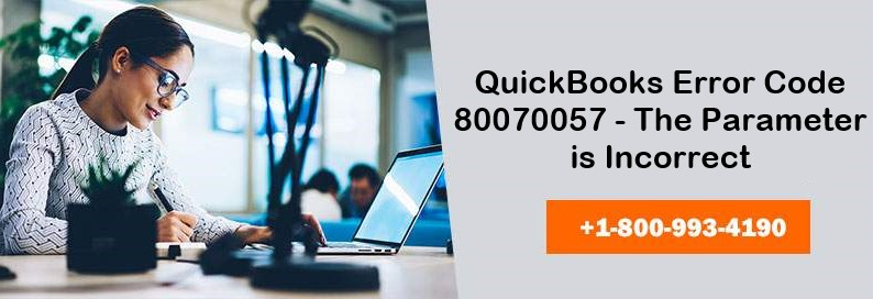 FIx QuickBooks Error 80070057