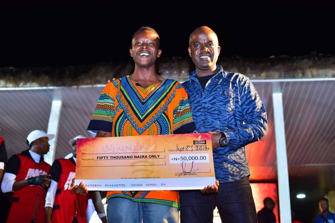 rigid emcee - winner of real deal contest