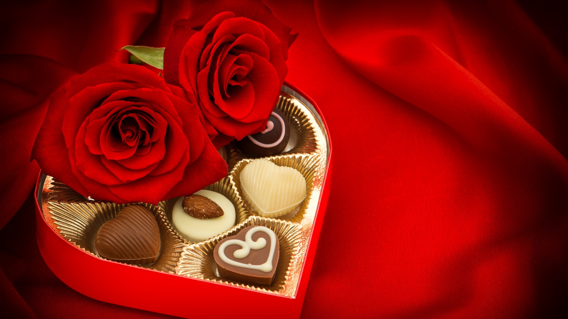 Valentines Day Candy And Chocolate Wallpapers 1920x1080