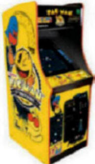 25th Anniversary Pacman/Ms. Pacman/Galaga in a commercial cabinet with a 25 inch monitor