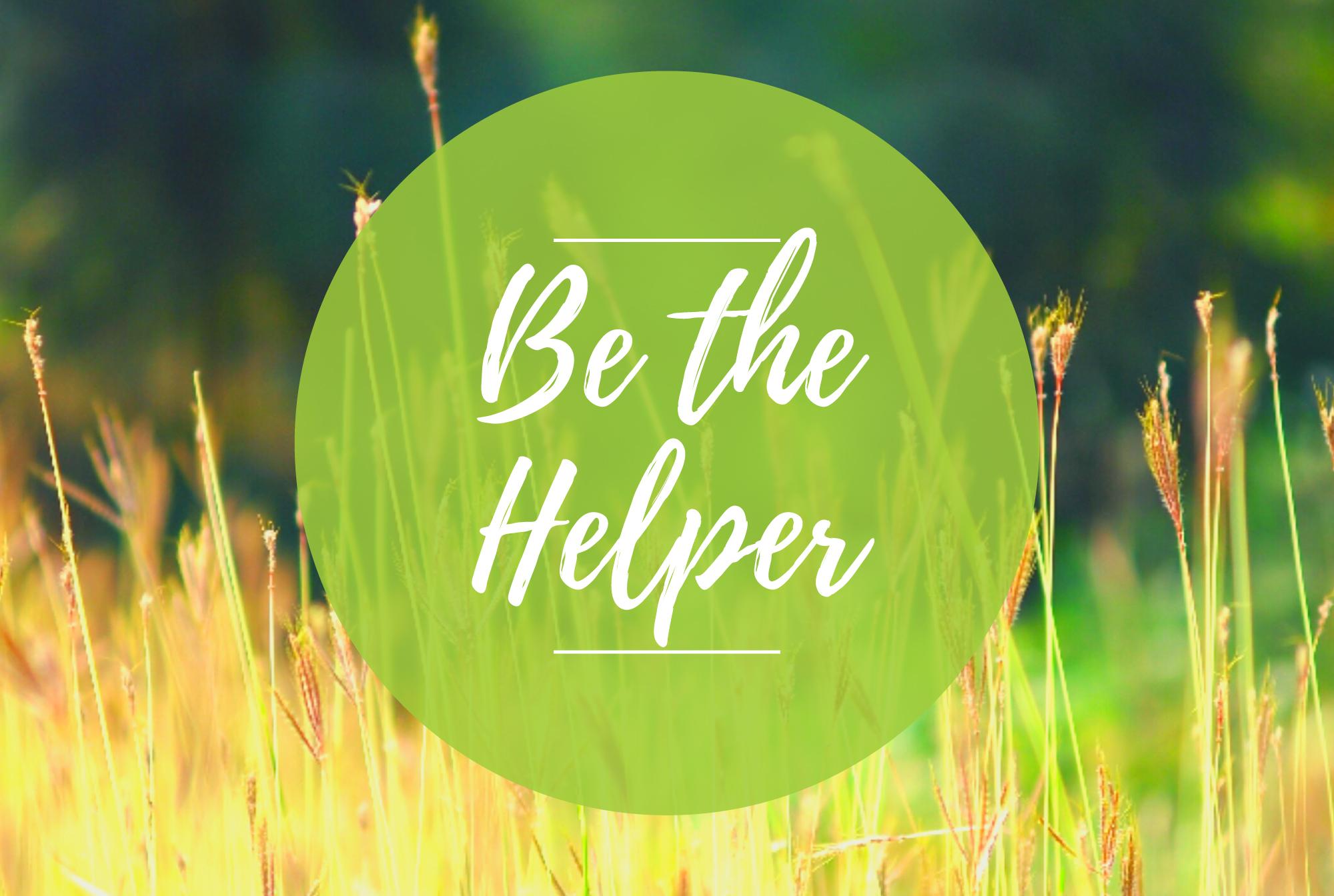 BH Office Be the helper Blog Header
