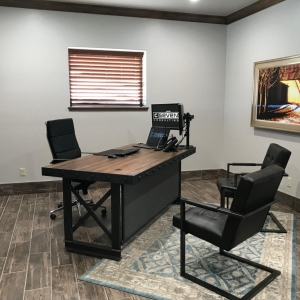 Home office Industrial style desk
