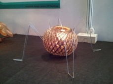 Even lamps look like robots at Techfest!