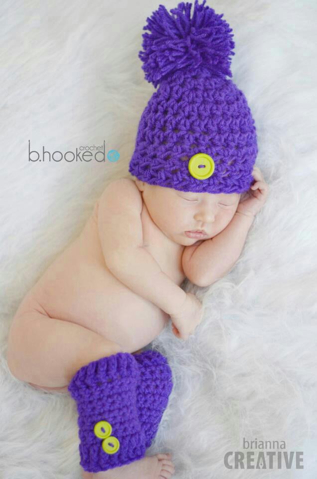 Crochet Newborn Hat Bhooked Crochet