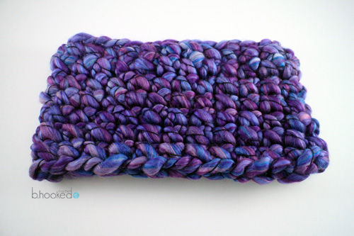 Finger Crochet Cowl for Web