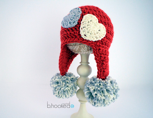 Sweet Heart Hat Web