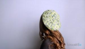 Starburst Crochet Beret