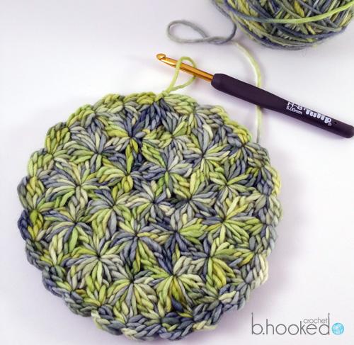 Starburst Crochet Beret - Free Pattern   Tutorial - B.hooked Crochet eea3d10d8d5