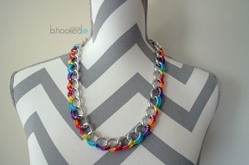 Curb Chain Necklace for Web
