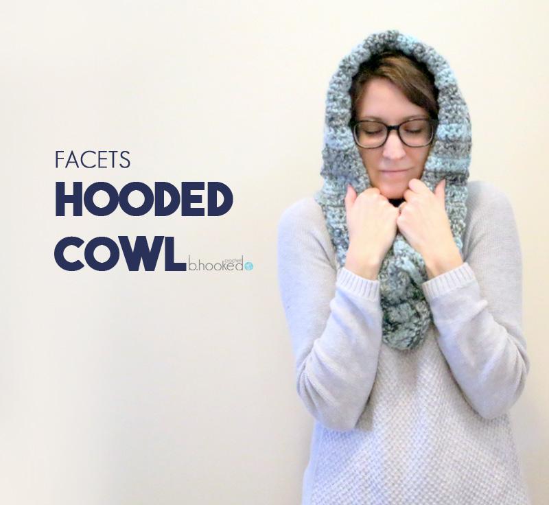 Crochet Hooded Cowl Bhooked Crochet Knitting Podcast