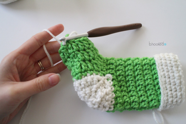 Mini Crochet Stockings Free Pattern Pictorial Bhooked Crochet
