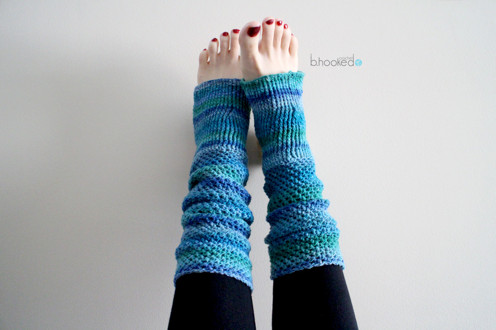 Crochet Yoga Socks - Free Pattern & Tutorial - B.hooked Crochet