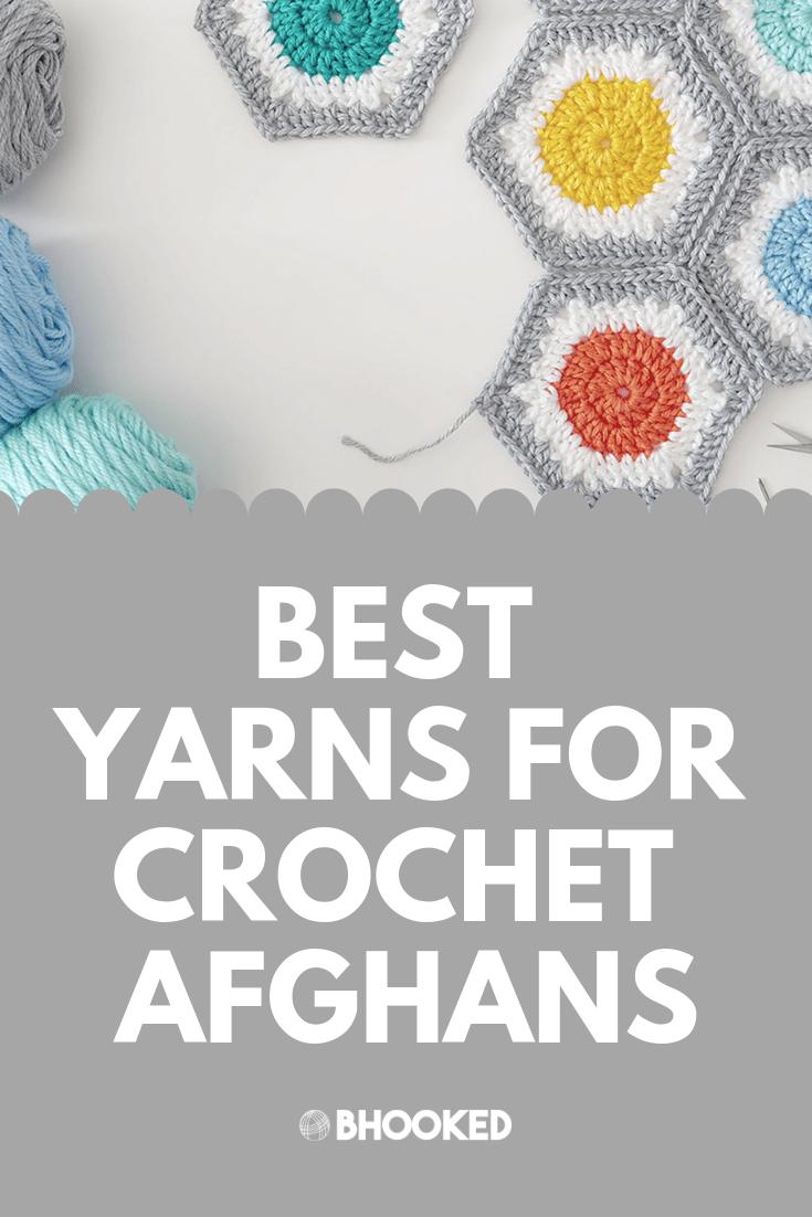 6 Best Yarn to Crochet Afghans that Last - B hooked Crochet