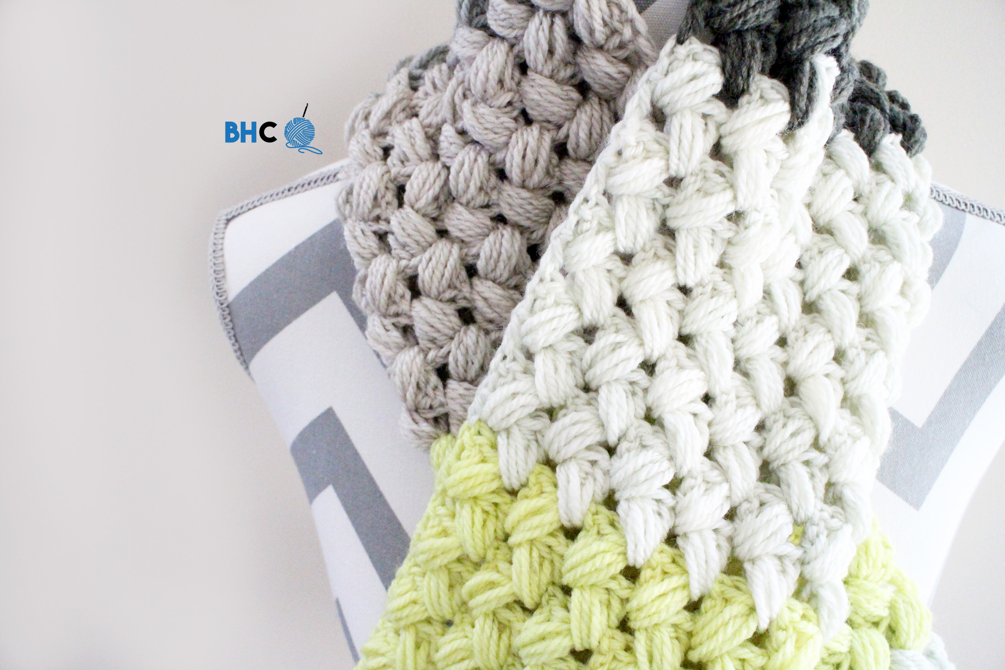 Zigzag Crochet Pattern Custom Inspiration Design