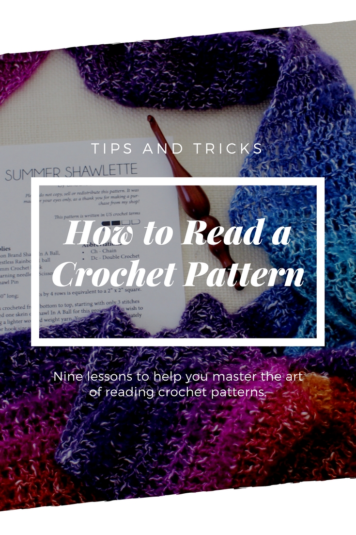 How to read a crochet pattern free course from bhooked how to read a pattern pooptronica
