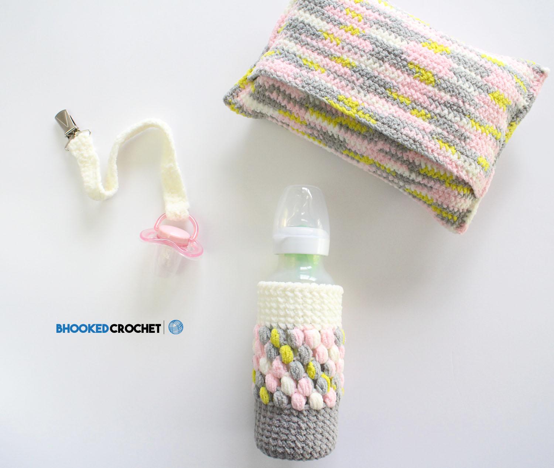 Easy Crochet Baby Shower Gift Set B Hooked Crochet