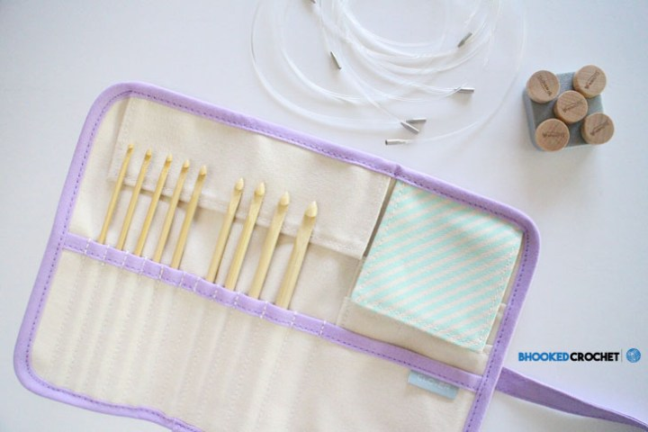 clover interchangeable tunisian crochet hooks