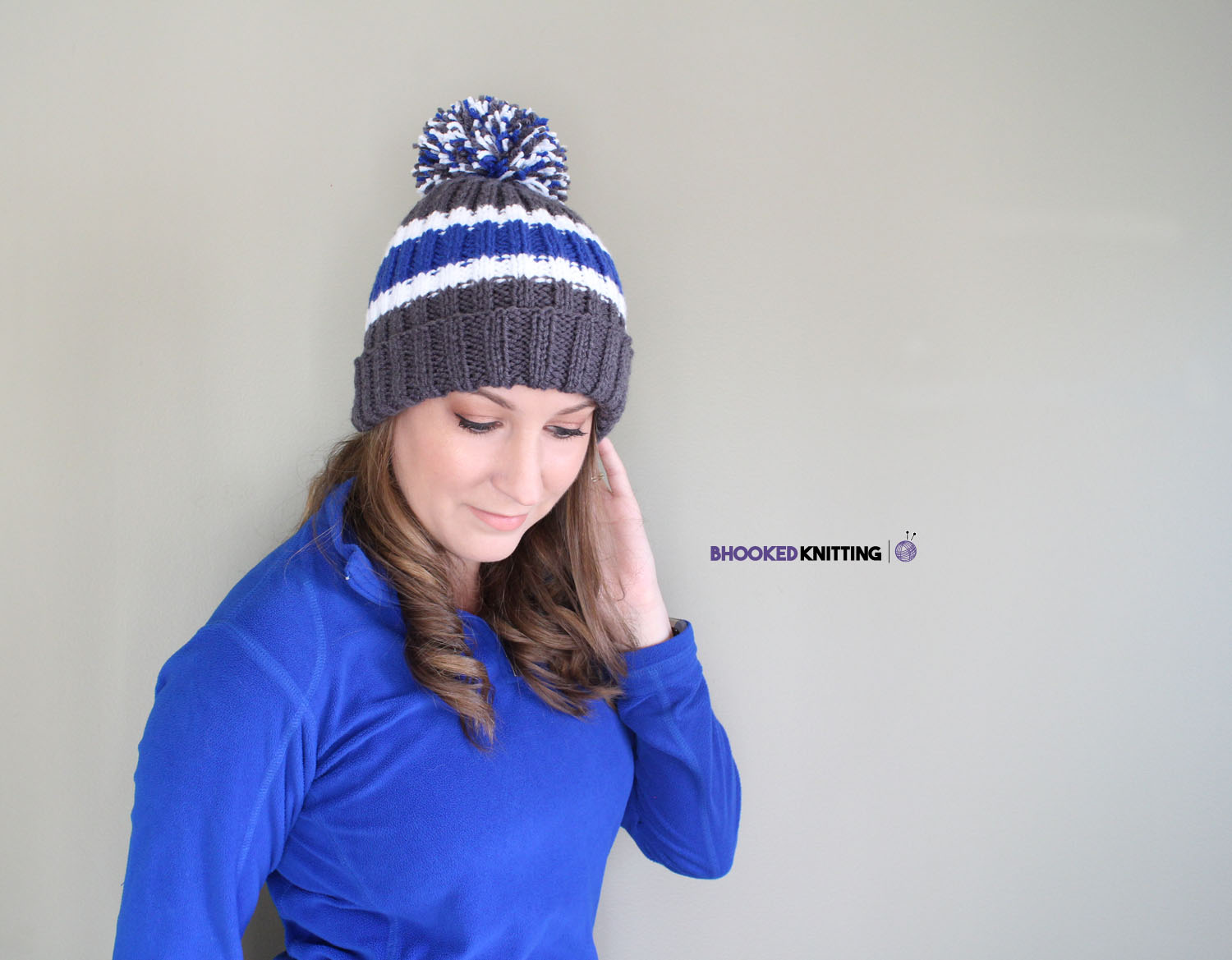 How To Knit a Beanie for Beginners - B.hooked Crochet | Knitting ...