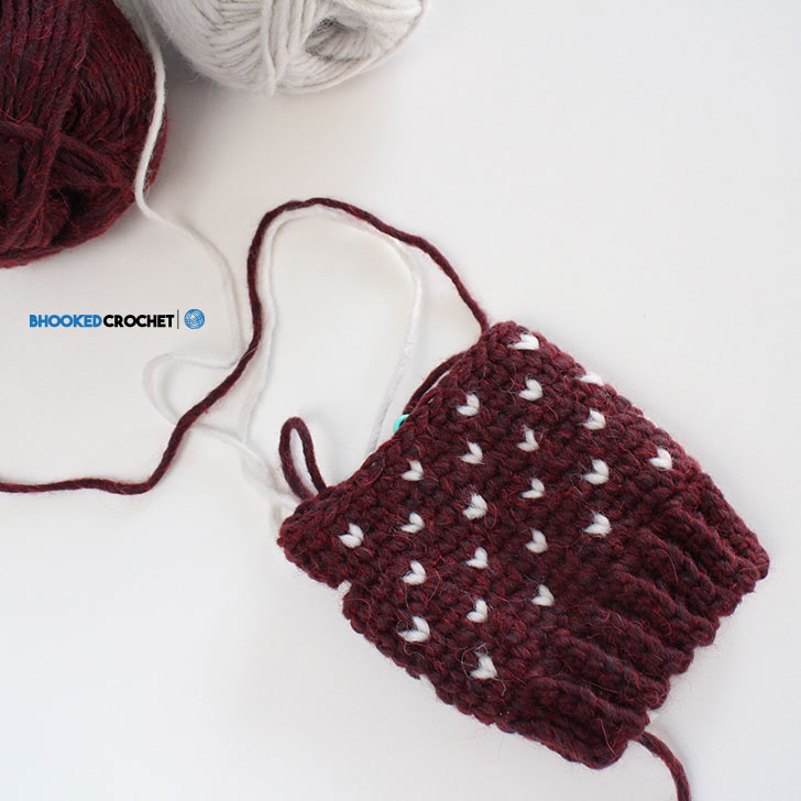 Patons Fair Isle Crochet Mittens - B.hooked Crochet | Knitting | Podcast