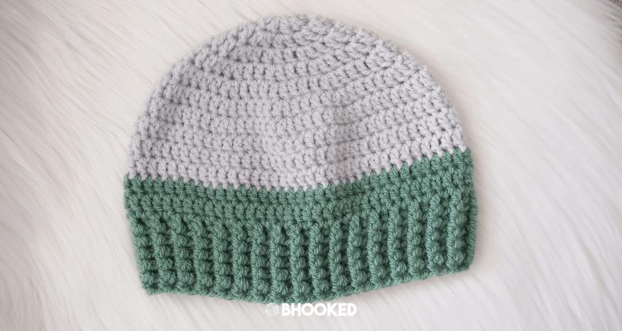 Basic Men's Crochet Hat | Crochet Challenge for Warm Up America