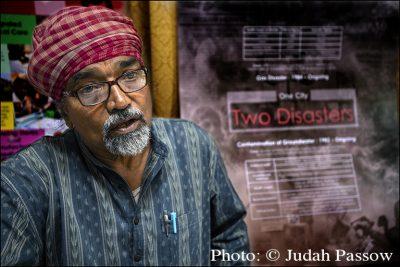 Bhopal Disaster campaigner, Satinath Sarangi